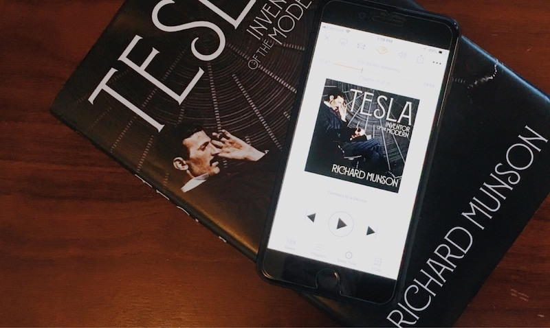 Nikola Tesla Audiobook Available